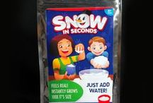 Our Fake Snow Products / All the Snow in Seconds fake snow products we sell.