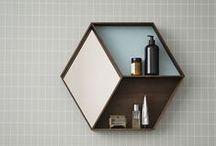 Bathroom Ideas / Some mainly B&W, simple ideas for bathroom interior.