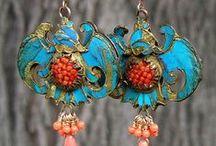 Vintage and romantic jewelry / Χειροποίητα κοσμήματα από όλο τον κόσμο - Handmade jewelry from around the world
