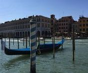 Venice, is there another place on earth like it? / As delicate as a spider web dancing upon the sea. Born from necessity in 400 A.D. Venice defies time, the ocean and the hordes of tourists today!