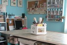 Craft Room Organization / by Suddenly Sewing