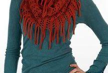 crochet -shawls-capes - etc.. / by Maria Papadaki