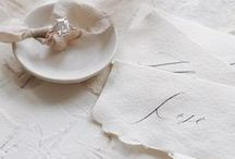 Wedding Stationary / wedding stationary, invitations and calligraphy inspiration for the Fine art bride