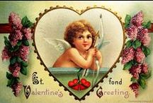 St. Valentine's Day Vintage Cards, Images and Ephemera / I have another board now that contains the small school exchange type Valentines, St Valentine's Day Cards - Small / by Leslea Parrish