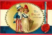 Patriotic USA Holiday Images & Ephemera / Cards, illustrations etc. celebrating 4th of July, Memorial Day, Veteran's Day etc. / by Leslea Parrish