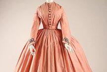 Ladies fashion 1860's