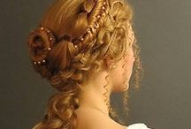Victorian era hairstyles and hats