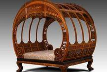 Victorian era decoration  / Decorative art and furniture