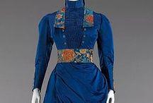 Ladies fashion 1880's