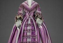 Ladies fashion 1850's