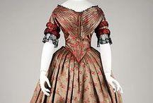 Ladies fashion 1840's