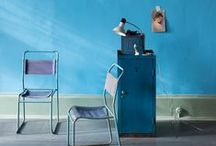 2014 Blue Spaces & Decor / Inspiration from 2014 Architectural Digest Home Design Show exhibitors.