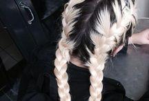 HAIR & EYES. / Matte Hair & Graphic Eyeliner
