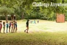 Challenge Course / Ideas and inspiration for Group Initiative Courses and our low ropes course