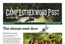 Our Publications / Keep up with all the news, needs, and upcoming events at Camp Lutherwood Oregon! These publications are also available on our website at lutherwoodoregon.org/downloads