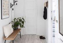 · ENTRYWAY · / · hallway · entryway · ideas · organization · styling ·  storage · design · furniture · bench · inspiration · home improvement ·