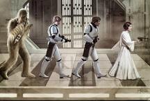 Star Wars / Benvingut/a al setè cel / Welcome to seventh heaven / Bienvenido al septimo cielo / by Lidia Mompart Bracero