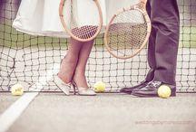 Wimbledon Wedding Ideas / A tennis infused wedding inspiration board.