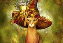Fall Kitties / by Krazee Kattladee ≧◔◡◔≦