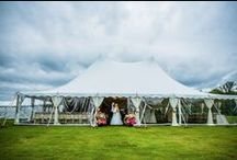 Tent Wedding / Blackberry Ridge Golf Club located north of St. Cloud, MN - in Sartell, MN - has a great option with hosting weddings on the Golf Course! For more information call - 320.257.4653 / email info@blackberryridgegolf.com