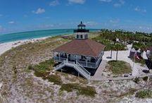 Port Boca Grande Lighthouse / Boca Grande Lighthouse is a historical lighthouse converted into a museum on Gasparilla Island