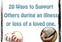 Supporting the bereaved / How to help and support someone who has been recently bereaved.