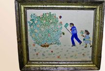 American Artwork / Antique and vintage Fine Art and Folk Art from American artists.