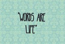 words are life / all about books