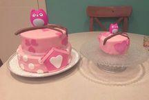 eigen taarten en cupcakes