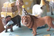 Faith's 3rd Birthday! / Animal Parade birthday party theme.