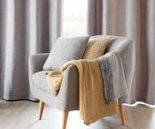 Hygge Happiness / Bring a touch of Hygge into your life with cosy accessories, cushions and throws, then surround yourself with friends and family.