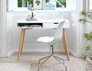 Home Office Furniture / Home office inspiration and home office furniture ideas. Whether you're looking for a new desk, chair or you simple want a few ideas on how to arrange your working space, then JYSK have the answer.
