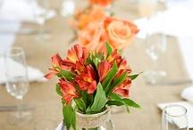 Table setting Orange