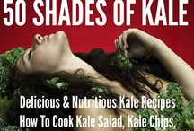 50 Shades of Kale / Looking for exciting, delicious, and sexy ways to cook Kale?  50 SHADES OF KALE by Dr. Drew Ramsey and veteran cookbook author Jennifer Iserloh pleases  with 50 recipes that promise to trim your waistline, build your brain, and boost your sex drive.
