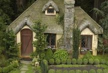 Architecture, houses, interiors