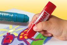 Playcolor: The new way / Para dibujar y pintar de una manera diferente, #playcolor, #instant educa, #tempera solida, instant #decora tejidos, #dibujar, #paint, #draw, #tempera