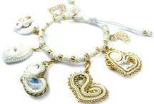 Biżuteryki dla Wośp - bransy z moimi serduszkami :)