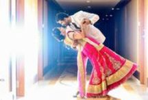 Lehengas And Half Sarees / Traditional Indian Bridal Clothing