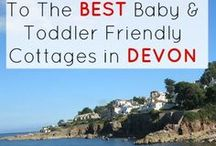 Devon Travel / Travel guides, tips and recommendations about places to stay and things to do in Devon with babies and toddlers. #devon #babyfriendly #toddlerfriendly #travel #holiday