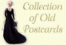 nostalgic postcards and pictures