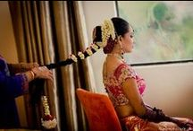 Bridal Hairstyles / #indian #Bride #Traditional #hairtutorials #hairstyle