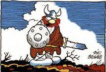 Tirinhas / Calvin e Haroldo   Piratas do Tietê   Garfield   Snoopy   Mafalda    Hagar, o horrível