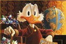 Disney / Os melhores personagens dos quadrinhos da Disney.