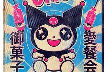 Kuromi & Her Peeps / Hello Kitty Characters  / by Dah