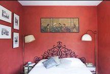 gli Specchi: the bed and breakfast / the three bedrooms of b&b gli Specchi