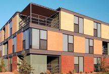 Fasad flerbostadshus