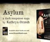 Book Trailer: Asylum / In 1899, twelve-year-old Maggie Delito unwittingly witnesses a shocking scandal. The next day, she's dragged from her family's estate and locked in an asylum.   Seventy-five years later, Laura Delito inherits more than assets when her family's mysterious past comes knocking—a strange old woman, cryptic messages, and a rare antique key that might unlock the truth. As she pursues clues from the Northeast to North Africa, she fails to see danger looming close to home.