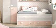 Dormitorios juveniles rosas / En tuco encontrarás ideas de color de rosa para el dormitorio de tu pequeña tuquera. Camas, armarios, mesas de estudio y muchos muchos complementos