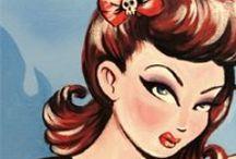 Rockabilly Style / www.retroglam.com best in #pinup #rockabilly #vintageinspired #vintagereproduction #retroglamclothing