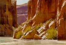 LANDSCAPES in PAINT / Paintings of the land